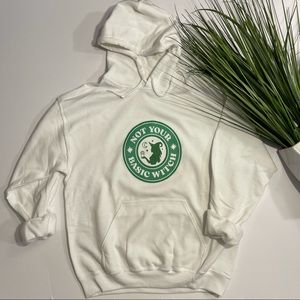 """""""Not Your Basic Witch"""" Halloween Hoodie"""